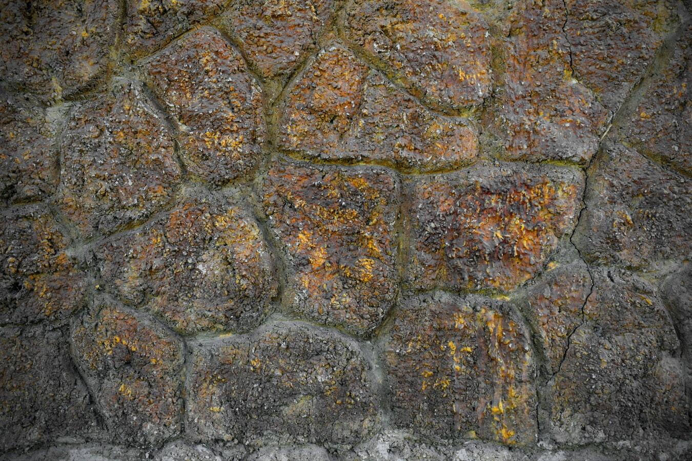 Steinmauer, Felsen, Steine, Textur, Wand, Stein, Rock, Granit, Muster, alt