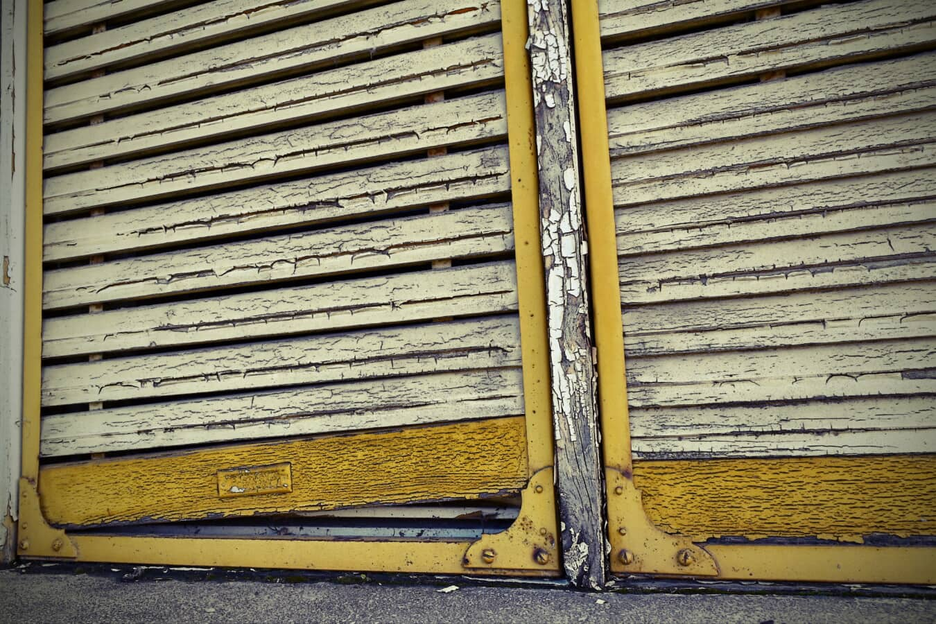 window, decay, yellowish brown, wooden, old, wood, texture, wall, retro, pattern