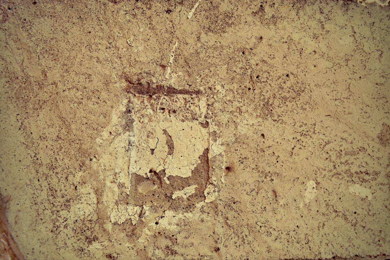 Beton, alt, Textur, Retro, dreckig, rau, Sand, Antik, Jahrgang, abstrakt