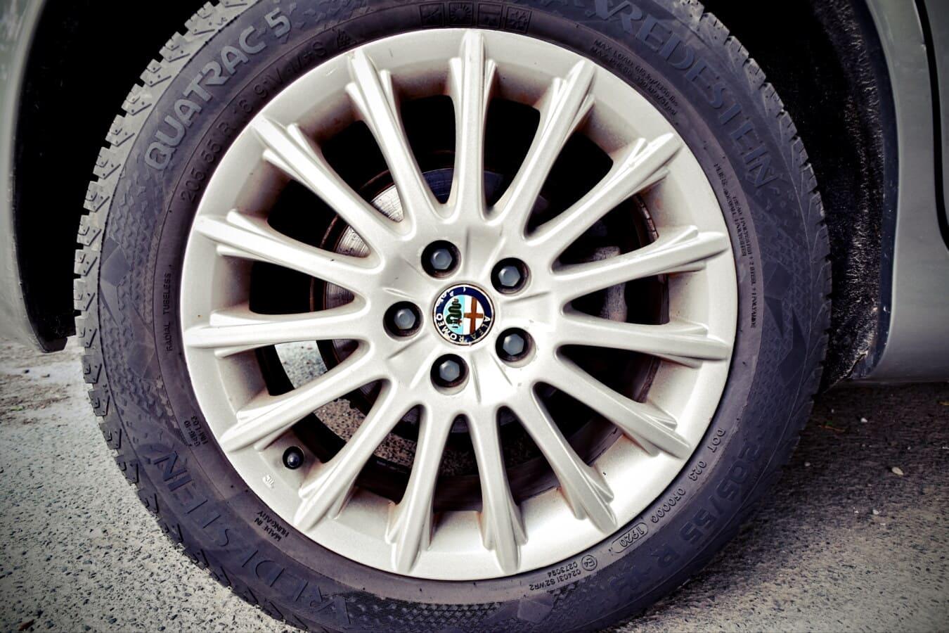 Alfa Romeo, Reifen, Aluminium, Auto, Legierung, Felge, Asphalt, Maschine, Rad, automotive