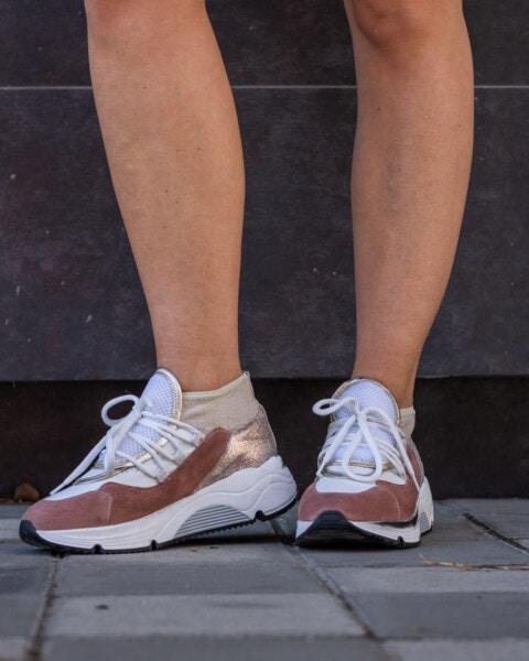 Turnschuhe, Joggen, barfuß, Beine, junge Frau, stehende, Schuhe, Mode, Verkleidung, Mädchen