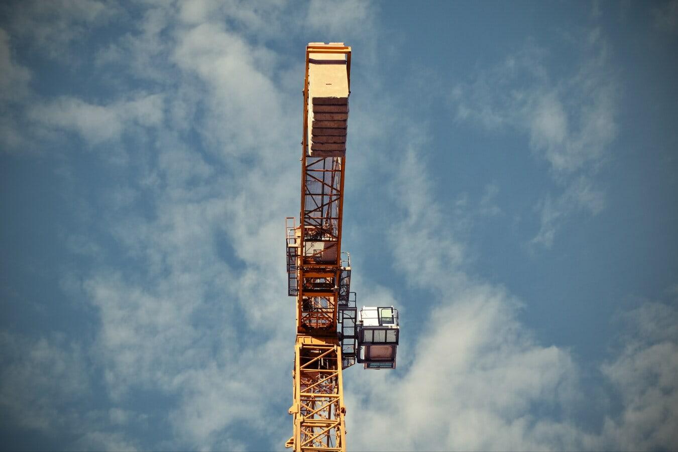 сайт, розвиток, промислові, техніка, висока, кран, будівництво, пристрій, промисловість, вежа