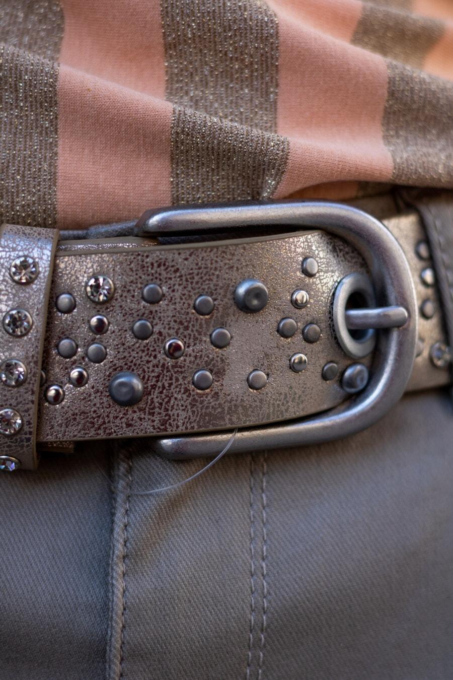 fermer, ceinture, boucle, fantaisie, Jeans/Pantalons, dispositif de fixation, élégant, luxe, unité, en cuir