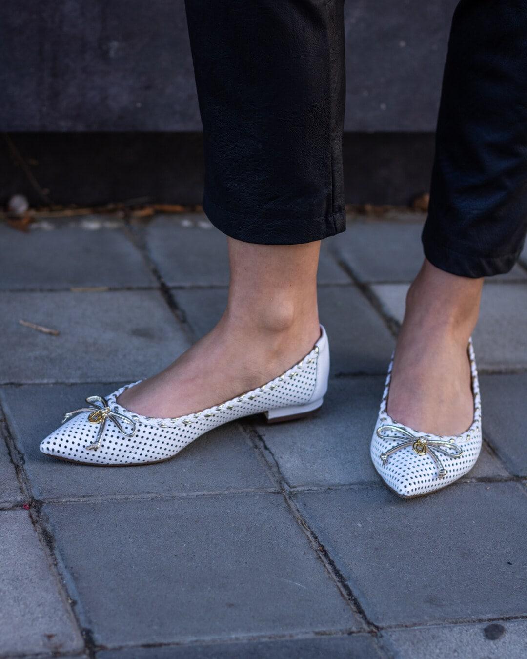 eleganta, skor, ung kvinna, Ben, skon, gata, kvinna, som täcker, foten, flicka