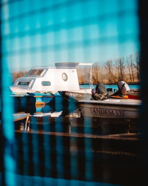 port, Yacht club, Yacht, bateau à moteur, bateaux, clôture, eau, été, des loisirs, à l'extérieur