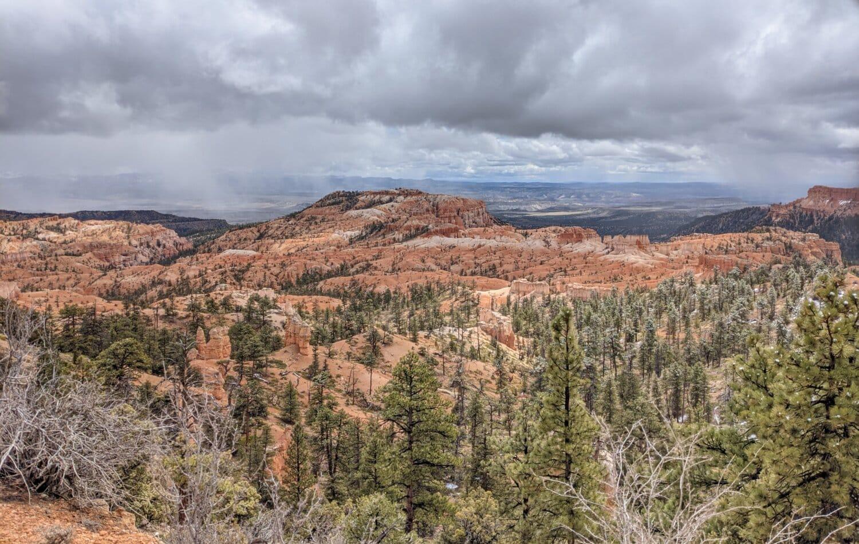 panorama, canyon, majestic, desert, ravine, rock, national, mountain, park, valley