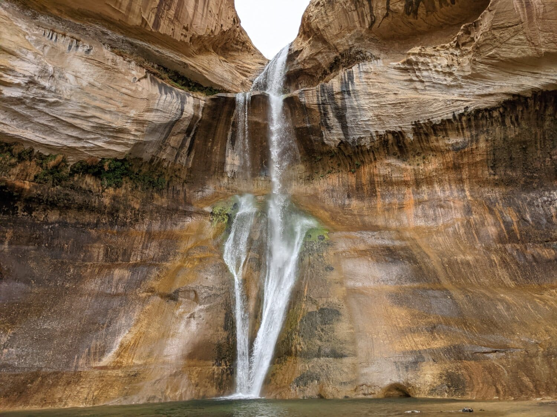 nature sauvage, chute d'eau, Canyon, majestueux, grès, paysage, Roche, nature, eau, rivière