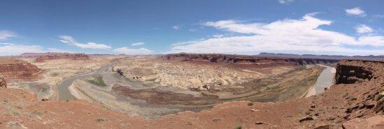gurun, alam, pemandangan luas, ngarai, gurun, erosi, dataran tinggi, Geologi, Tanah, batu