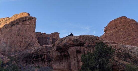 pegunungan, mendaki gunung, pendaki gunung, erosi, Geologi, gurun, Tenggara, batu pasir, Knoll, taman