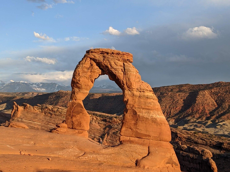 Arch, Rock, Ausbildung, Wüste, majestätisch, Klippe, Megalith, Landschaft, Stein, Sandstein