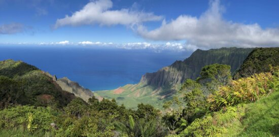 tropical, littoral, nature, nature sauvage, paysage, Panorama, majestueux, montagnes, montagne, falaise