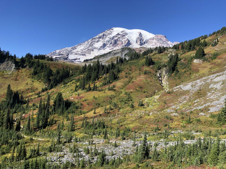 Sommet de montagne, haute terre, gamme, montagnes, montagne, paysage, nature, neige, à l'extérieur, vallée de