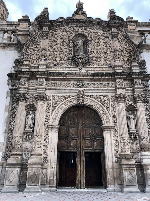 kathedraal, voordeur, middeleeuwse, monument, barok, kunst, christelijke, Christendom, gebouw, structuur