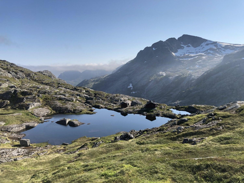 mountains, majestic, national park, high land, panorama, landscape, snow, range, mountain, glacier