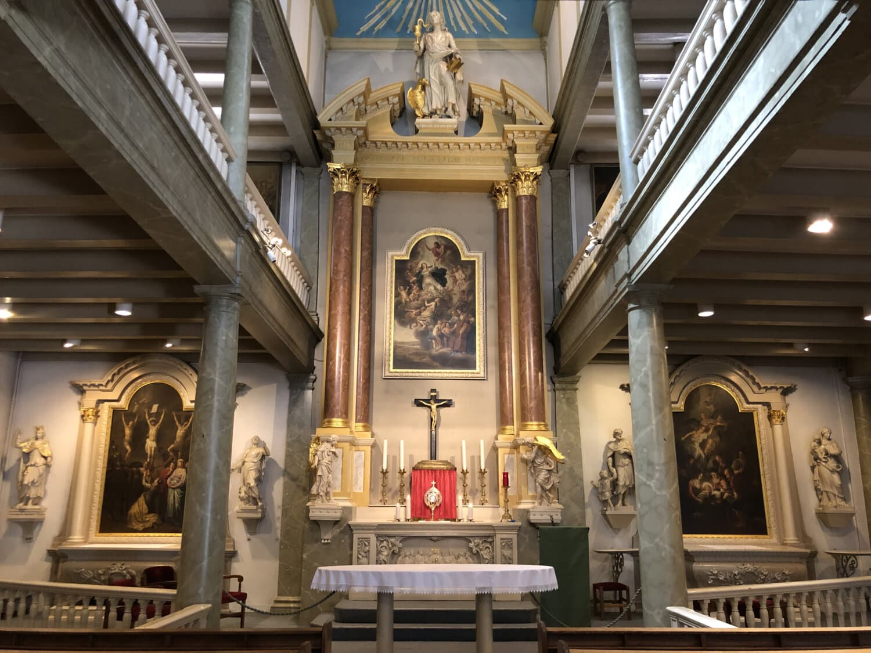 Altar, katholische, kathedrale, Innendekoration, Kirche, Religion, Gebäude, Architektur, Struktur, drinnen