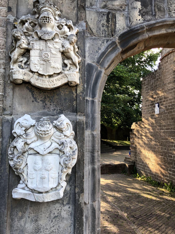 Erbe, Stil, Heraldik, Barock, Wand, Tür, Ornament, Antike, Stein, alt