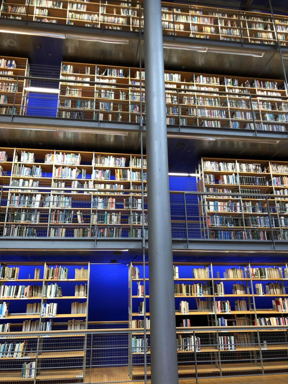 librairie, livres, Bibliothèque, étagères, structure, plateau, bibliothèque, bâtiment, architecture, Université