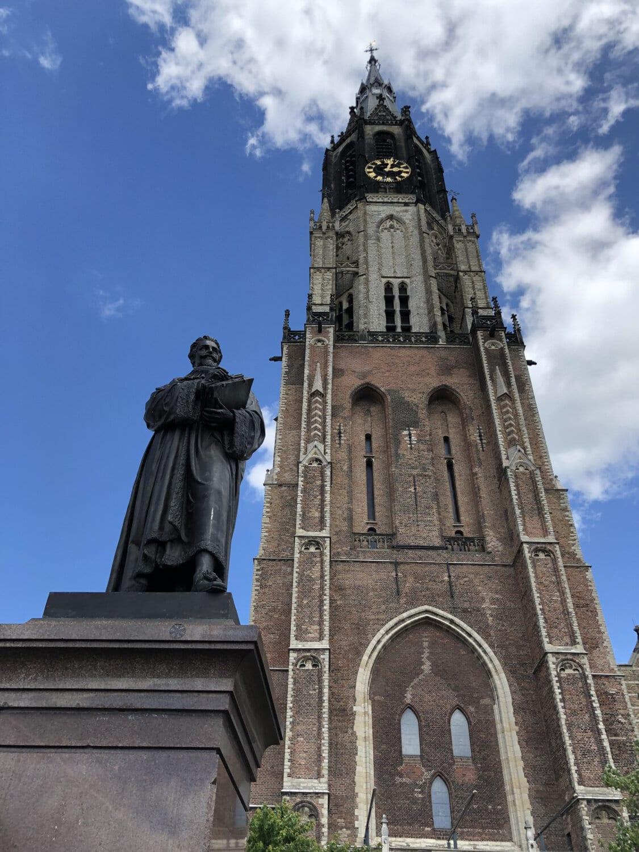 skulptura, svetac, bronca, bista, crkva, crkveni toranj, toranj, arhitektura, zgrada, katedrala