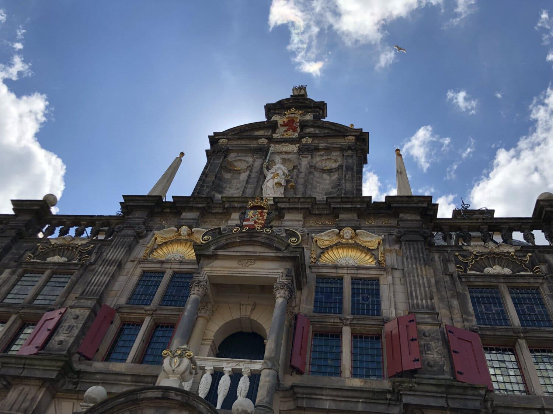 Barock, Stil, Gebäude, Palast, Architektur, Turm, alt, Stadt, Fassade, Straße