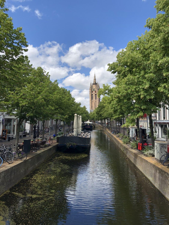 capitale, Européenne, rivière, Centre ville, canal, canal, architecture, pont, eau, Ville
