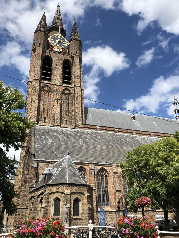 教会, 模拟时钟, 高耸, 中世纪, 市中心, 首都, 哥特式, 大教堂, 天主教, 体系结构