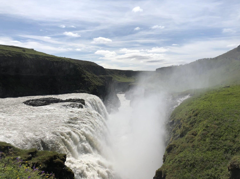 chutes d'eau, vallée de, gamme, nature sauvage, flux de données, rivière, eau, source chaude, Roche, paysage
