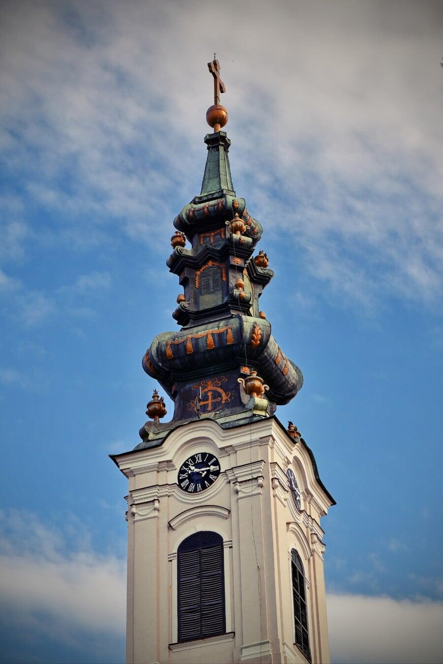 อาคารโบสถ์, เครื่องประดับ, บาโร, ไบแซนไทน์, งดงาม, สถาปัตยกรรม, นิกายออร์โธดอกซ์, ศาสนา, คริสตจักร, เก่า