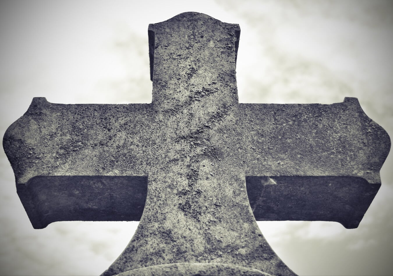 catholic, celtic style, cross, grief, black and white, death, gravestone, close-up, monochrome, cemetery