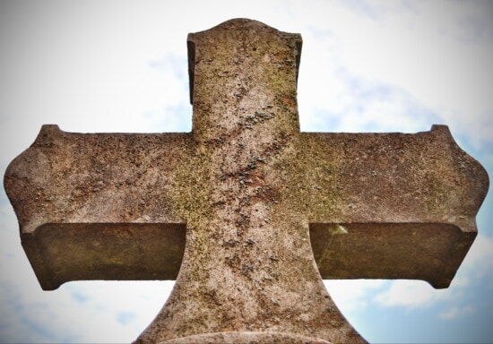 Cross, celtic stil, kristendommen, symbol, død, kirkegård, marmor, gravsten, gravsten, begravelse