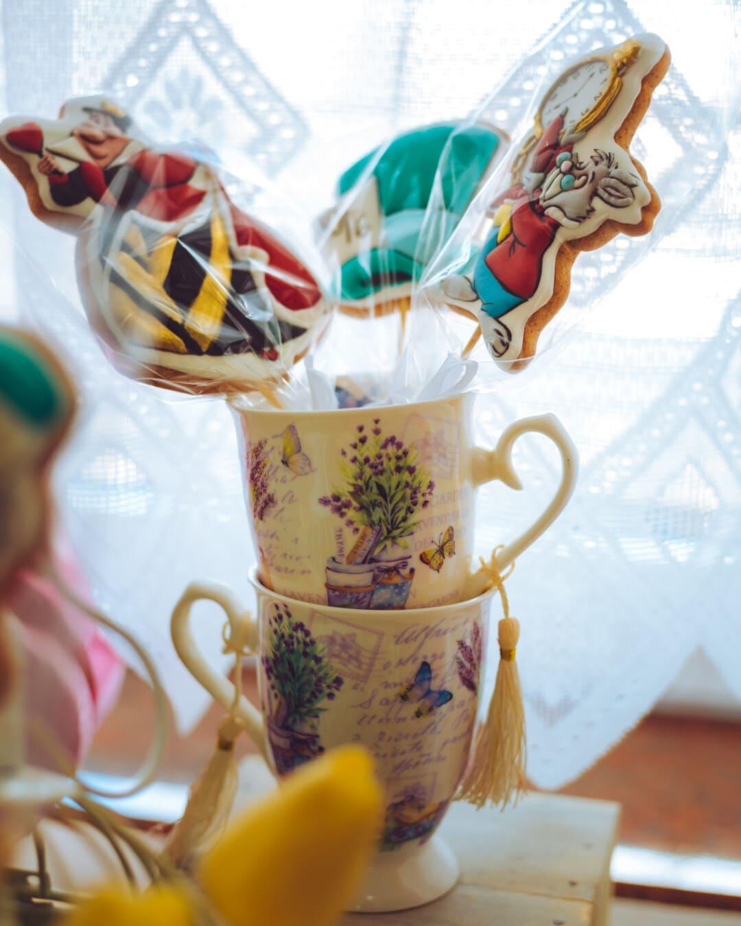 Pâques, bonbons, la sucette, Mug, décoration d'intérieur, traditionnel, Coupe, porcelaine, design d'intérieur, à l'intérieur