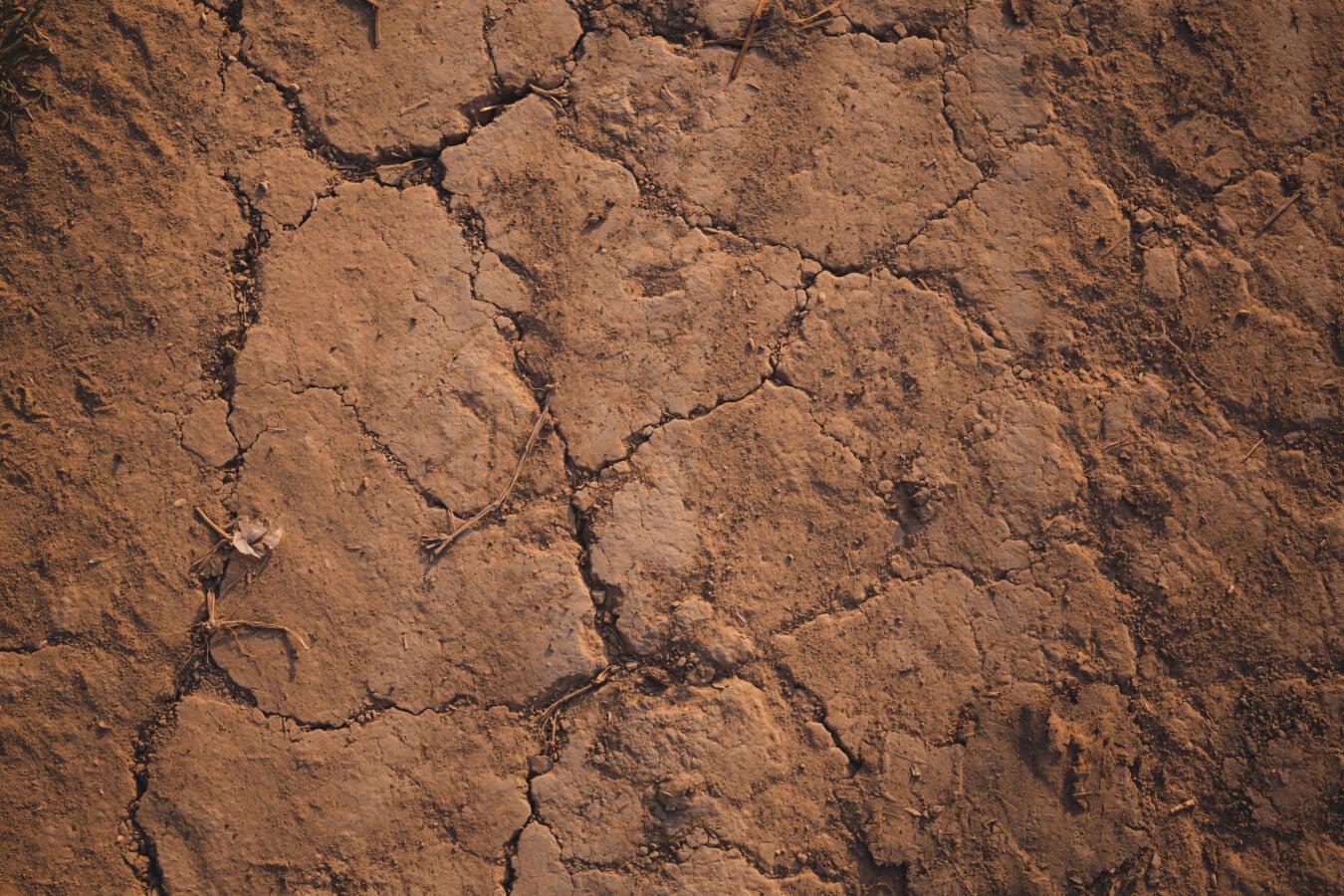 trocken, Boden, Staub, Schlamm, Erosion, alt, Boden, dreckig, Textur, Dürre