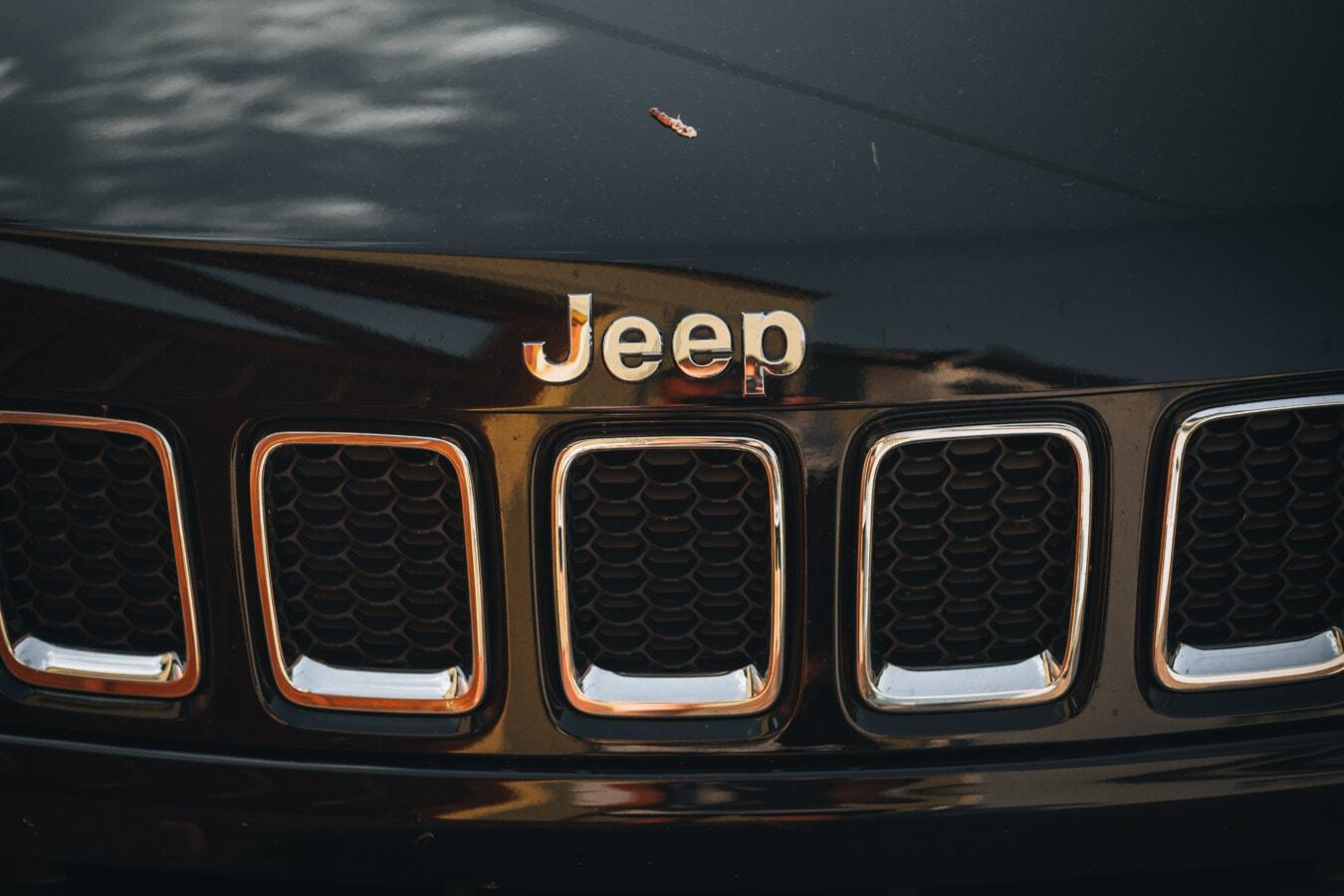 Jeep, Raster, metallische, Kühlergrill, Fahrzeug, Auto, automotive, Mustang, Chrom, Klassiker