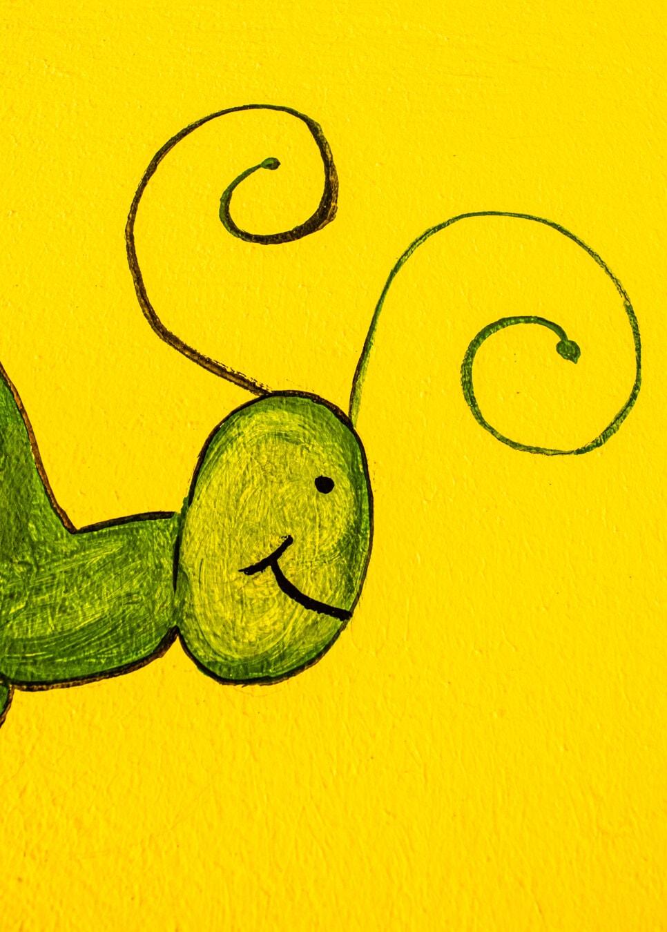 aus nächster Nähe, Schmetterling, Grafik, Kopf, Skizze, grünlich gelb, Abbildung, Kunst, Textur, Design
