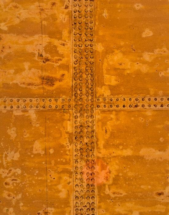 Panel, Rost, Metall, hellbraun, Eisen, gelblich-braun, aus Gusseisen, alt, dreckig, Antik