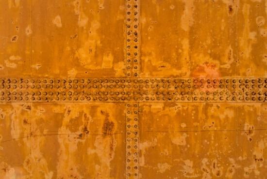 Rost, Metall, hellbraun, Schraube, Grunge, alt, Verfall, gelblich-braun, Textur, Retro