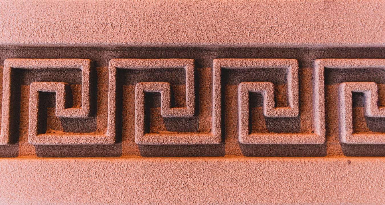 pattern, greek, textile, geometric, wall, arabesque, texture, symbol, sign, design