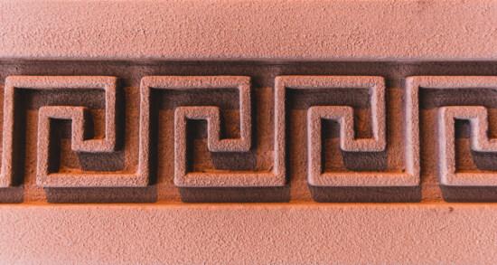 modèle, Grec, textile, géométrique, mur, arabesque, texture, symbole, signe, conception