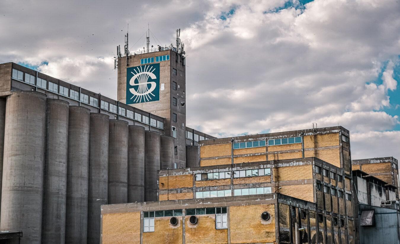 Silo, industrielle, verlassener, Verfall, verlassen, Sozialismus, Factory, Architektur, Gebäude, Turm