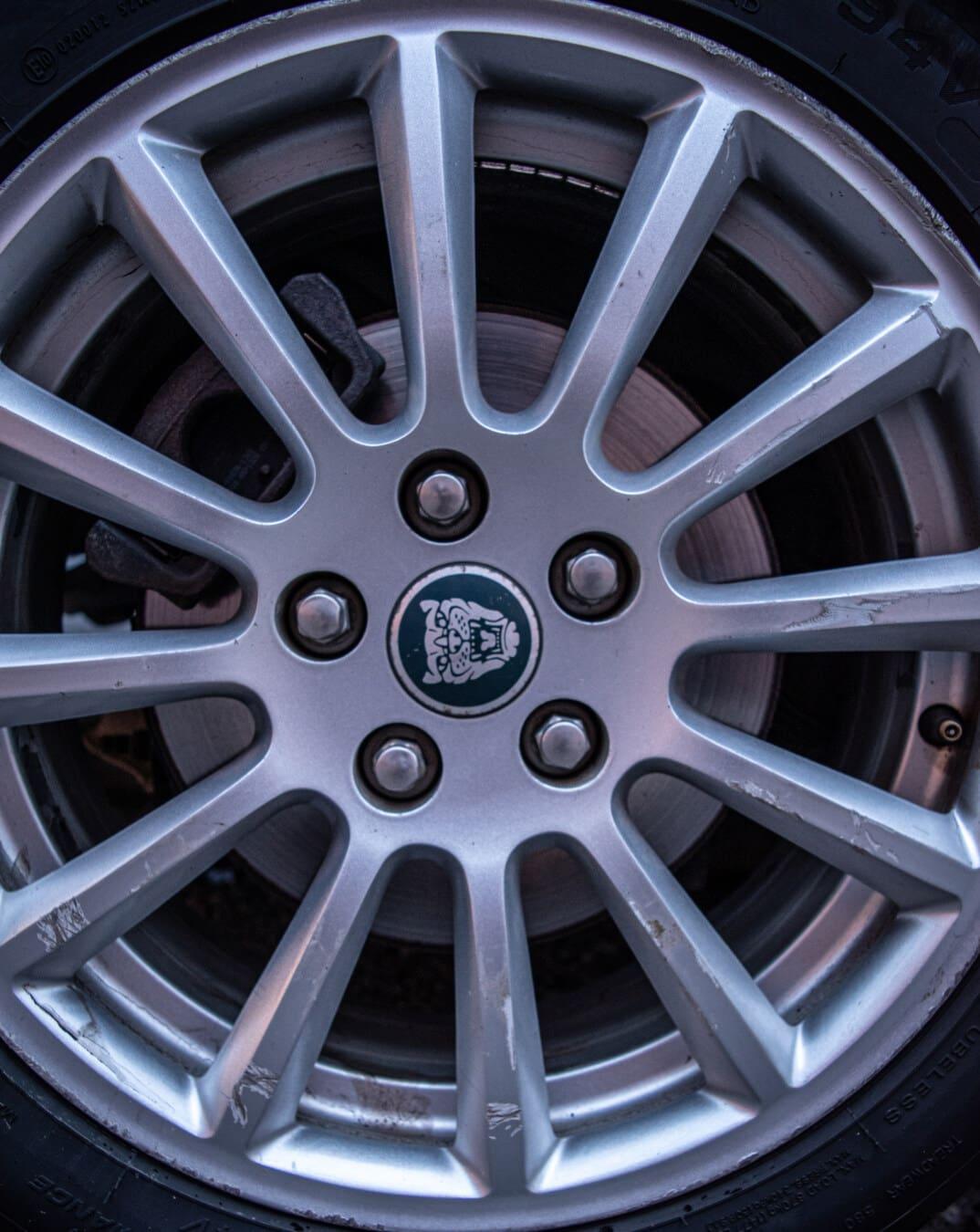 roue, pneu, machine, chrome, technologie, voiture, automobile, jante, en acier, en détail