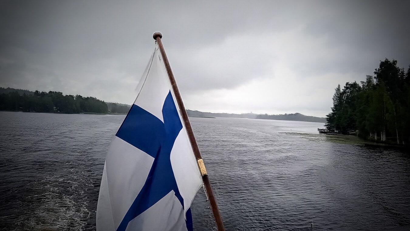 drapeau, bateau, voyage, navire de croisière, Yacht, voile, eau, mer, vent, océan