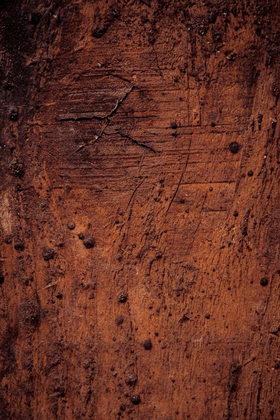 plank, vertical, wooden, texture, hardwood, knot, dark, brown, carpentry, material