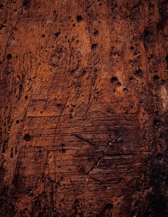 prkno, textilní, hnědá, tvrdé dřevo, Knot, prach, barvení, špinavý, povrch, ročník