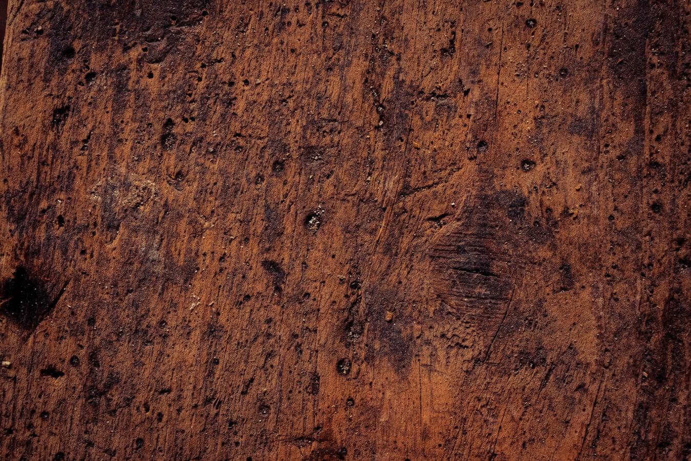 Sägemehl, Plank, aus Holz, Detail, Fleck, Tischlerei, Oberfläche, Knot, Antik, leere