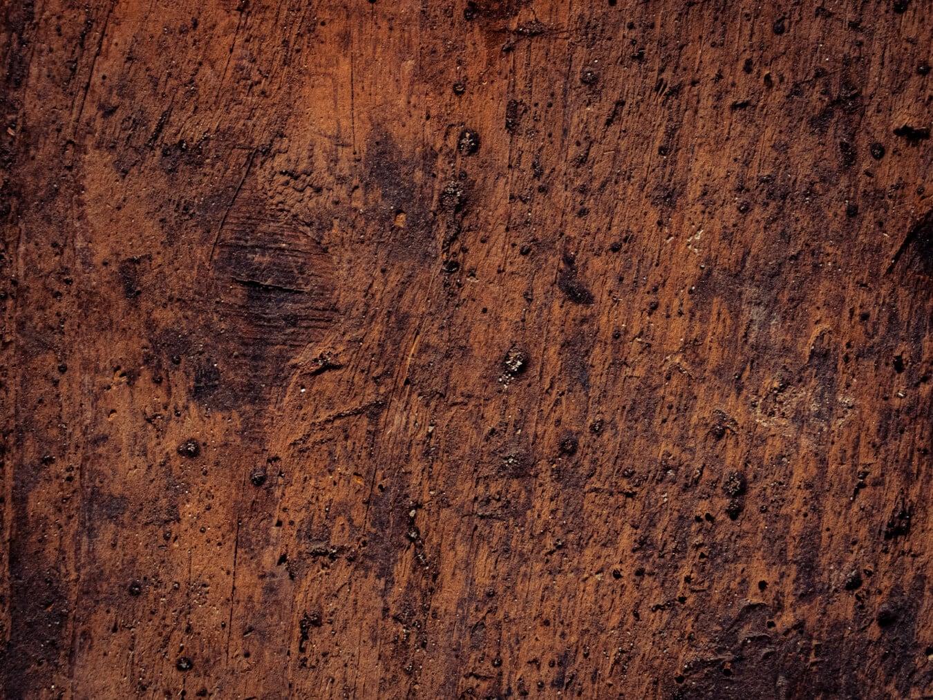 Planken, Knot, Details, Hartholz, verlassener, Textur, Verfall, Holz, Grunge, Oberfläche