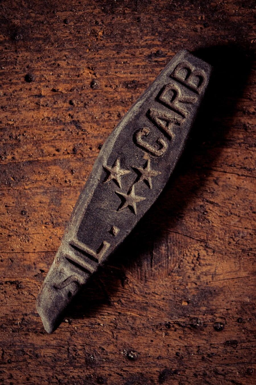 Stein, Klinge, Jahrgang, Hand-Werkzeug, alt, Werkzeug, Schnitzen, Retro, dreckig, Eisen