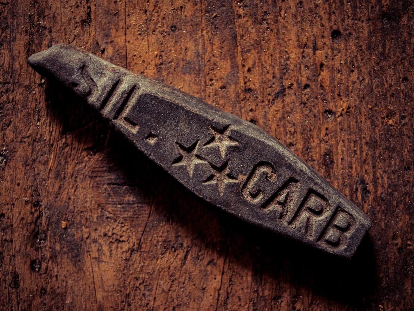vieux, Pierre, outil à main, vintage, outil, texture, texte, retro, bois, sale