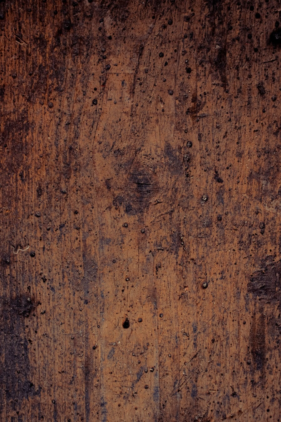 decay, dirty, plank, vertical, texture, wooden, knot, stain, old, dark