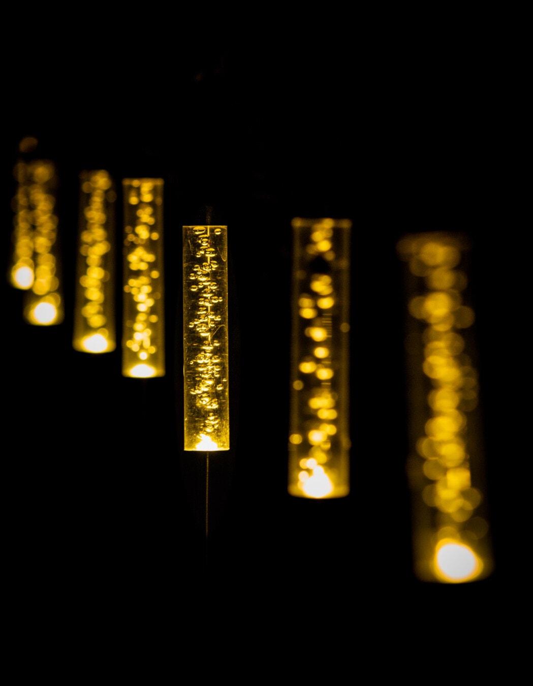 darkness, night, lamp, lantern, plastic, light bulb, bauble, light, illuminated, dark