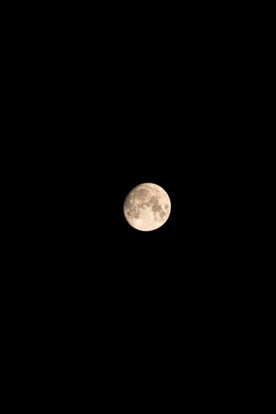 Lune, clair de lune, paysage lunaire, pleine lune, voie Lactée, nuit, univers, Galaxy, Eclipse, astronomie