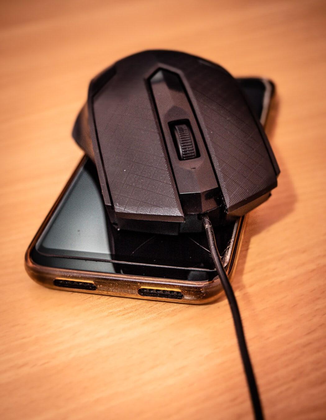 souris, téléphone portable, téléphone portable, périphérique, technologie, fermer, portable, téléphone, équipement, électronique